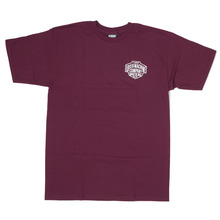 View the Loser Machine Lintstock T-Shirt - Burgundy from the T-Shirts clothing range online today from Boarderline