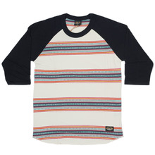 Loser Machine Turnout Raglan Top - Black/Bone