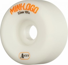 View the MINI LOGO A-CUT WHEELS 53 x 31mm - 101A from the Wheels clothing range online today from Boarderline