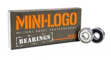 View the MINI LOGO BEARINGS from the Bearings/Bolts/Tools clothing range online today from Boarderline