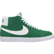 View the Nike SB Blazer Mid - Pine Green/White from the Mens clothing range online today from Boarderline