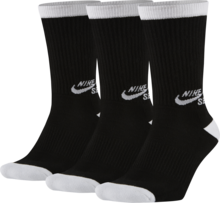 View the Nike SB Crew Socks - Black/White from the Socks clothing range online today from Boarderline
