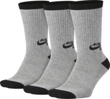 View the Nike SB Crew Socks - Heather Grey/Black from the Socks clothing range online today from Boarderline