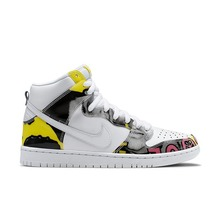 View the Nike SB De La Soul Dunk High - White/Firefly from the Mens clothing range online today from Boarderline