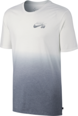 View the Nike SB Dip Dye T-Shirt - White/Cool Grey from the T-Shirts clothing range online today from Boarderline