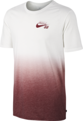 View the Nike SB Dip Dye T-Shirt - White/Team Red from the Socks clothing range online today from Boarderline