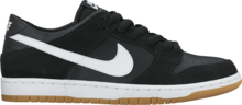 View the Nike SB Dunk Low Pro - Black/White/Gum from the Mens clothing range online today from Boarderline