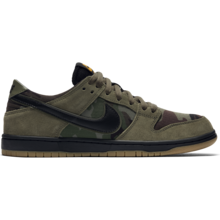 View the Nike SB Dunk Low Pro - Medium Olive/Black/Gum/Light Brown from the Mens clothing range online today from Boarderline