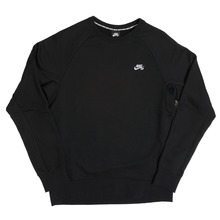 View the Nike SB Icon Crew Sweat - Black from the Hoods and Crews clothing range online today from Boarderline