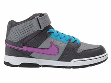 View the NIKE SB MOGAN MID 2 JUNIOR - COOL GREY/VIVID PURPLE/BLUE LAGOON from the Kids Shoes clothing range online today from Boarderline