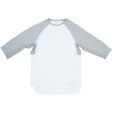 Nike SB Skyline Dri-Fit 3/4 Sleeve Crew - White/Grey