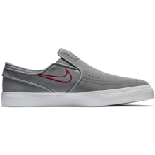 View the Nike SB Stefan Janoski Slip On - Gunsmoke/Red Crush from the Mens clothing range online today from Boarderline