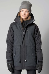 View the Nikita Blonde Roast Jacket - Jet Black from the Womens Snowboard Jackets clothing range online today from Boarderline