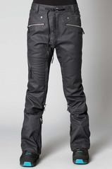 View the Nikita Cold Brew Pant - Jet Black from the Womens Snowboard Pants clothing range online today from Boarderline