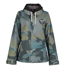 View the Nikita Laurel Jacket - Fatigue from the Womens Snow Jackets clothing range online today from Boarderline
