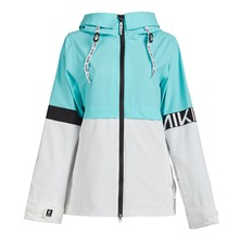 View the Nikita Lindan Jacket - Mountain Blue from the Womens Snow Jackets clothing range online today from Boarderline