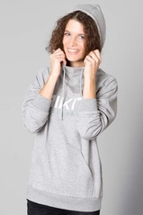 View the Nikita Reykjavik Hood - Heather Grey from the Fleece/Layering clothing range online today from Boarderline