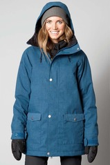 View the Nikita Saga Jacket - Orion Blue from the Womens Snowboard Jackets clothing range online today from Boarderline