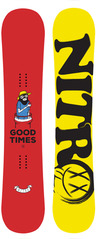 View the Nitro GOOD TIMES 148 LTD UK EDITION snowboard  from the Mens Snowboards clothing range online today from Boarderline