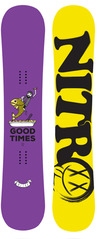 View the nitro GOOD TIMES 152 ltd UK Edition Snowboard from the Mens Snowboards clothing range online today from Boarderline