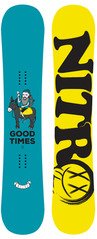 View the Nitro GOOD TIMES 155 LTD UK EDITION SNOWBOARD from the Mens Snowboards clothing range online today from Boarderline