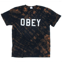 Obey Collegiate T-Shirt - Black