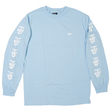 View the Obey Creeper Long Sleeve - Powder Blue from the T-Shirts clothing range online today from Boarderline