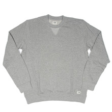 Obey Dissent Crew - Heather Grey