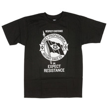 View the Obey Flag of Dissent T-Shirt - Black from the T-Shirts clothing range online today from Boarderline