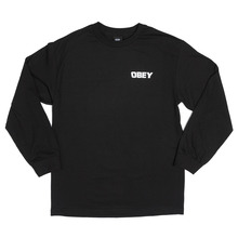 View the Obey Game Over Long Sleeve - Black from the T-Shirts clothing range online today from Boarderline
