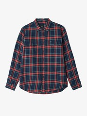 View the Obey Highland Shirt - Red Multi from the Shirts clothing range online today from Boarderline