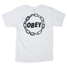 View the Obey Jumble Chain Premium T-Shirt - White from the T-Shirts clothing range online today from Boarderline