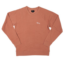View the Obey Lofty Chain Stitch Crew - Rose from the Hoods and Crews clothing range online today from Boarderline