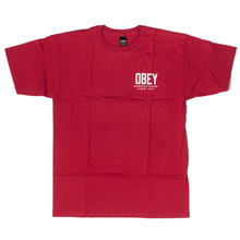 Obey MFG Gear T-Sirt - Red
