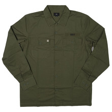 View the Obey Mission Military Shirt - Light Army from the Shirts clothing range online today from Boarderline