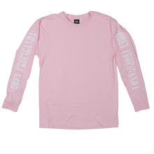 View the Obey New Times Propaganda Long Sleeve - Pink from the T-Shirts clothing range online today from Boarderline
