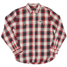 View the Obey Ridley Shirt - Navy/Red from the Shirts clothing range online today from Boarderline