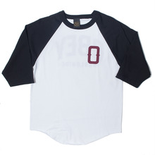 Obey Varsity 89 Baseball Raglan - White/Black