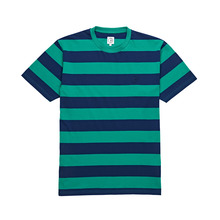 View the Polar 91 Stripe T-Shirt - Green/Navy from the T-Shirts clothing range online today from Boarderline