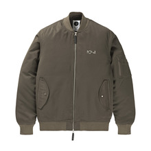 View the Polar Bomber Jacket - Olive from the Jackets clothing range online today from Boarderline