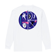 View the Polar Cut Out Fill Logo Longsleeve - White from the T-Shirts clothing range online today from Boarderline