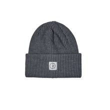View the POLAR SKATE CO DOUBLE FOLD MERINO BEANIE - HEATHER GREY from the Beanies clothing range online today from Boarderline