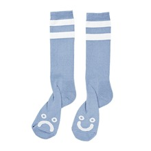 View the Polar Happy/Sad Classic Socks - Powder Blue from the Socks clothing range online today from Boarderline
