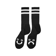 View the Polar Happy/Sad Socks - Black from the Socks clothing range online today from Boarderline