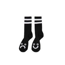 View the POLAR SKATE CO HAPPY/SAD SOCKS - BLACK from the Socks clothing range online today from Boarderline