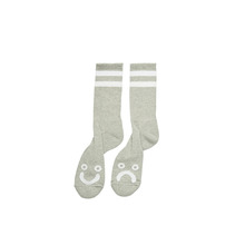 View the Polar Happy/Sad Socks - Heather Grey from the Socks clothing range online today from Boarderline