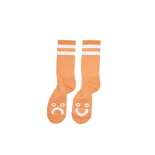 View the Polar Happy/Sad Socks - Light Orange from the Socks clothing range online today from Boarderline
