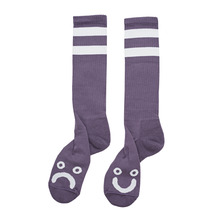 View the Polar Happy/Sad Socks - Lilac from the Socks clothing range online today from Boarderline