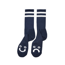 View the Polar Happy/Sad Socks - Navy from the Socks clothing range online today from Boarderline