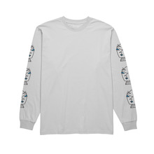View the Polar Heads Long Sleeve - Ice Grey from the T-Shirts clothing range online today from Boarderline